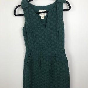 ANTHROPOLOGIE TABITHA Basket Weave Tema Dress Sz 0